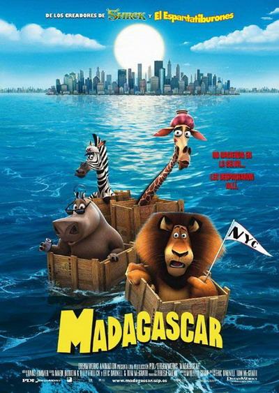 故事中的马达加斯加岛